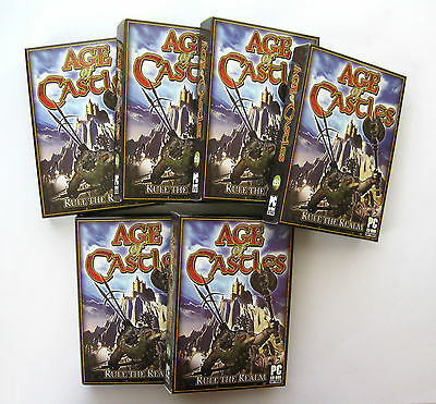 6 x Age of Castles PC Games Wholesale Lot ***New & Sealed - Clearance Stock****