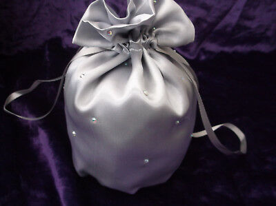 SALE Wedding/Dolly Bag with Rhinestone Diamante trim ~ NWD ~ Various Colours
