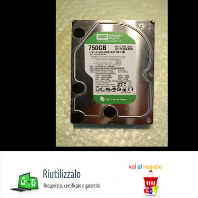Hard Disk Western Digital Wd7500Aads-00M2B0-750Gb 3.5""