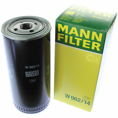 Genuine Mann Oil Filter for Working Hydraulics W 962/14