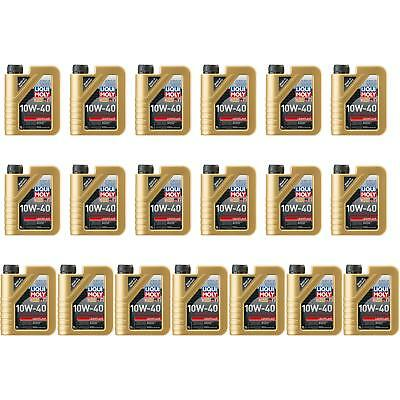 19x1l GENUINE Liqui Moly Smooth-Running 10W-40 Oil Engine Oil Engine Oil