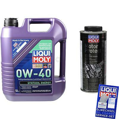GENUINE Liqui Moly Synthoil Energy 0W-40 motorprotect