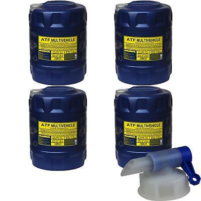 4x20 l MANNOL MN8210-4ME ATF Multivehicle Automatic transmission fluid Oil+