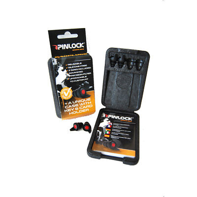 Motorcycle Pinlock Earplugs - Black UK Seller