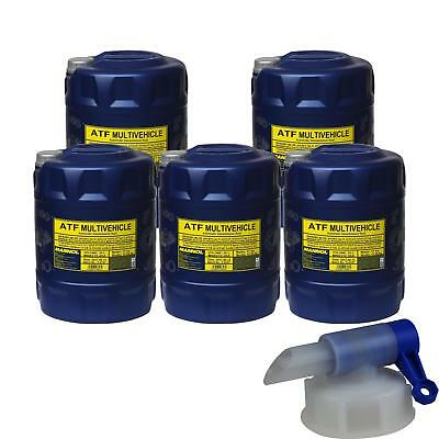 5x20 l MANNOL MN8210-4ME ATF Multivehicle Automatic transmission fluid Oil+