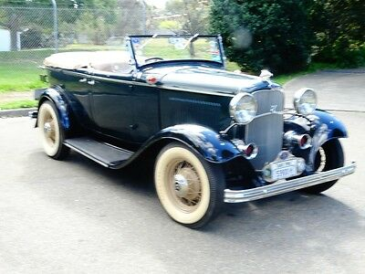1932 Ford Deluxe Sports Phaeton