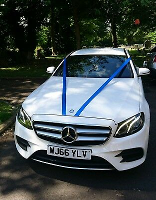 Wedding Car Hire - 2017 Mercedes E class saloon covers Northumberland, Newcastle