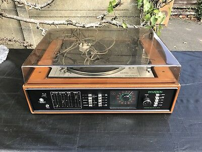 DYNATRON  With GOLDRING LENCO GL 78 Turntable Record Player