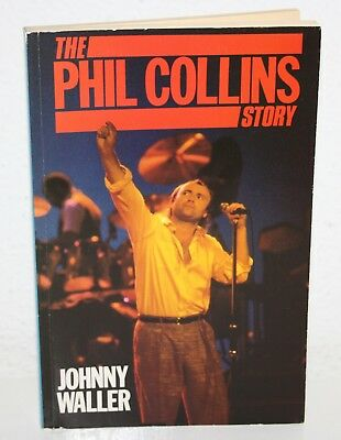 THE PHIL COLLINS STORY 1985 UK Biography by Johnny Waller Book Libro Genesis