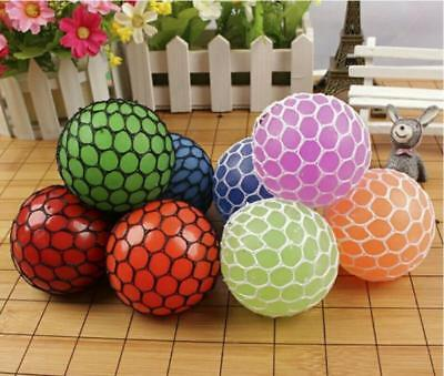 Novelty Polyethylene Mesh Grape Ball Anti-Stress Stress Relieving Squeeze Toy