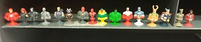 Marvel Mania MicroPopz Figure COMPLETE SET 16 Iron man, Thor, Spiderman and more