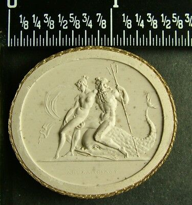 Rare Antique Grand Tour 1840 Plaster Intaglio Cameo 76 By Poniatowski / Tyrrell