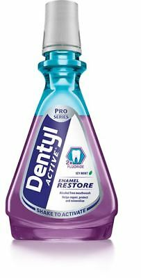 Dentyl Alcohol Free Mouthwash Enamel Restore 500ml New