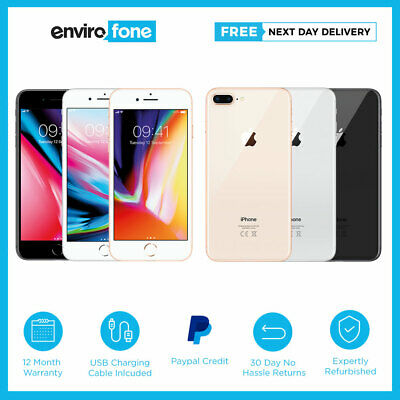 Apple iPhone 8 Plus 64GB 256GB Various Colours Unlocked SIM Free Smartphone