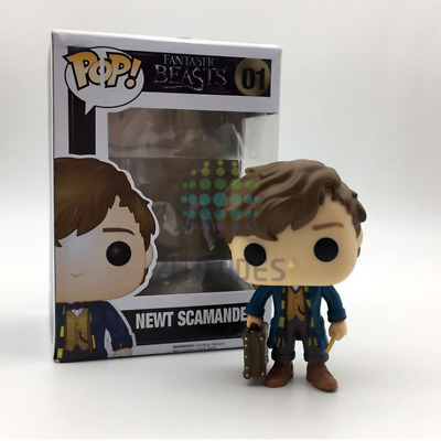 Funko Pop! Fantastic Beasts #01 Newt Scamander Exclusive Action Collectible Toy