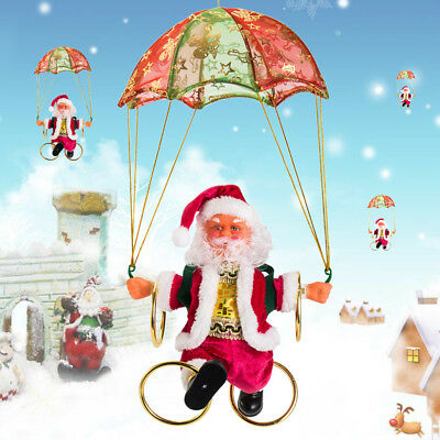 Animated dancing musical santa jack nightmare before for Animated santa claus decoration
