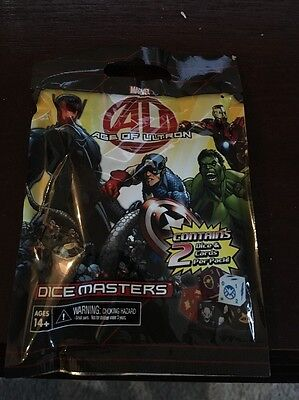 Marvel Age Of Ultron Dice Masters Sealed Single Pk NEW