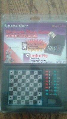 Excalibur ELECTRONIC CHESS GAME BRAND NEW EXTREMELY RARE