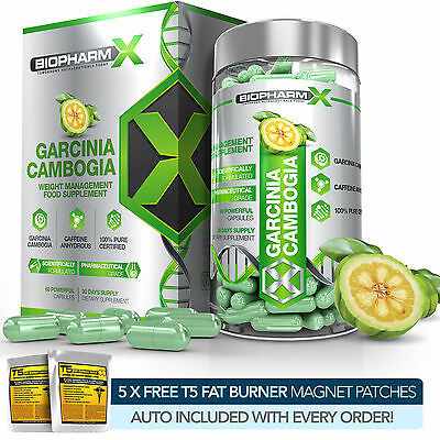 Garcinia Cambogia Extract : Max Natural Fat Burner Detox & Appetite Suppressant