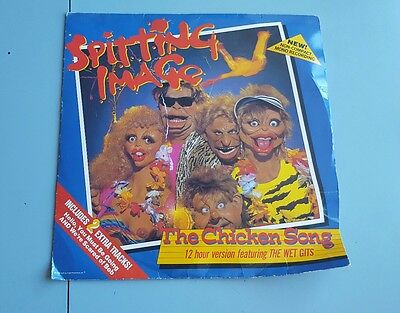Spitting Image The Chicken Song On LP