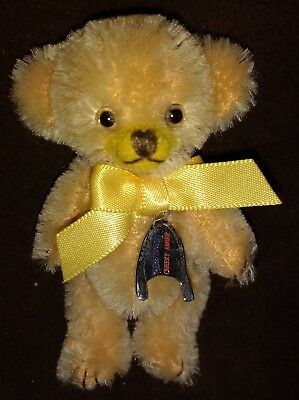 "Merrythought 3"" Cheeky Amber Mohair Teddy Bear 5 Of 250 - New In Box"