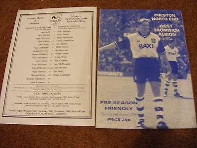 1996 Preston v WBA friendly