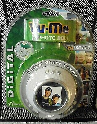 Vu-Me Photo Frame Golf Ball Digital by SENARIO Holds up to 70 Pictures New Pack