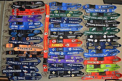 SALE!!! - Heavy Duty NFL Football Teams Lanyard ID Card Badge Holder Keychain