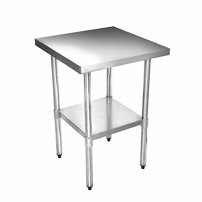 """Voilamart Commercial Stainless Steel Kitchen Work Table Bench Catering 24"""" x 24"""""""