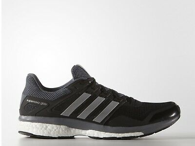 Adidas Supernova Glide 8 Boost Mens Running Gym Trainers Shoes 6 7 12 13 14