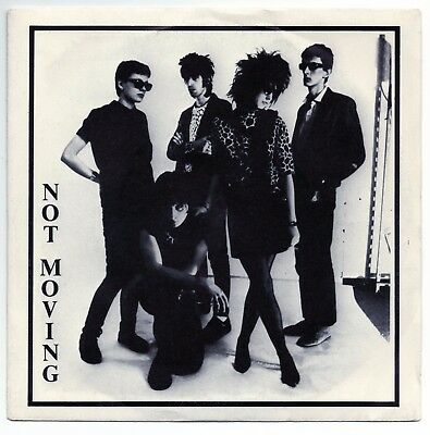 """NOT MOVING Movin' Over 7""""EP ELECTRIC EYE 1983 ITA origin 2nd single RARE LILITH"""