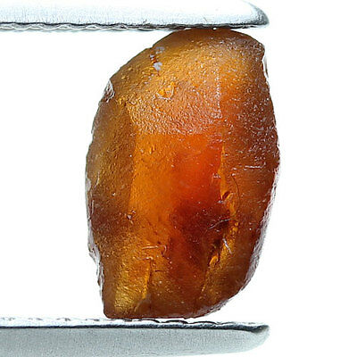 2.07 ct.Orange Natural Spessartine Ganet Rough Gemstone Unheated Free Shipping!