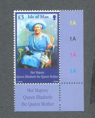 Isle of Man - Queen Mother mnh-Royalty