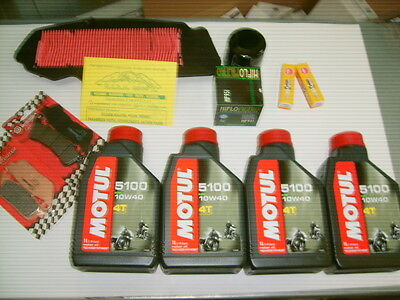 Replacement Kit Motul Honda Silverwing 400 Year From 2009