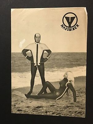 A NASSBIBER Skin Diver Brochure 1961 SCUBA DIVING Gear Equipment Wetsuit