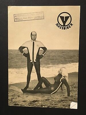 A NASSBIBER Skin Diver Brochure 1962 SCUBA DIVING Gear Equipment Wetsuit
