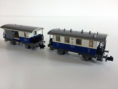 Fleischmann  N lot 2 voitures train de montagne suisse Edelweiss