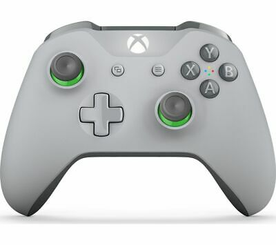MICROSOFT Xbox One Wireless Controller - Grey - Currys