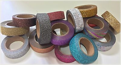 glitter washi tape - *postage only payable for one tape* - UK seller