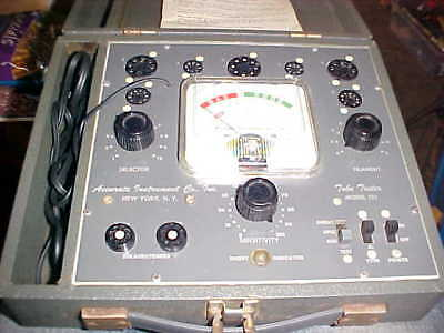 Tube Tester Accurate Instrument Co. New York, NY Model 151
