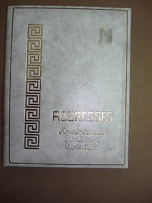 Vintage ADDRESS BOOK ~ New Old Stock ~ NOS VTG