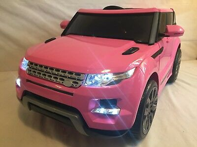 Kids Range Rover HSE Sport Style 12v Electric Battery Ride on in Car Jeep - Pink