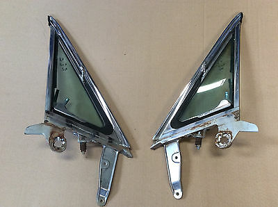 1965 1966 Mustang Door Vent Glass Or Wind Wing R&LH Sun-X Tinted Date 4M 5A