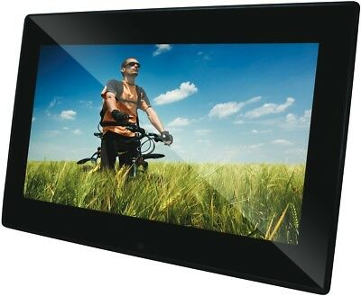 NEW DPF1506LED-BS 15.6in QPIX Slim LED Digital Photo Frame