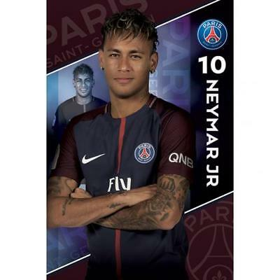 Paris Saint Germain F.C. Poster Neymar 10