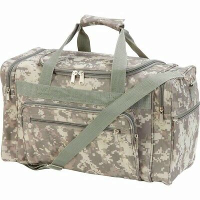 "Camo Range GEAR BAG Water-Resistant 18"" Digi Tactical Military Duffle Gun Ammo"