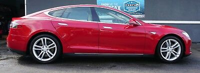 2013 Tesla Model S 85 2013 Tesla Model S 85 Sharp Factory Warranty Extra Clean Beautiful!