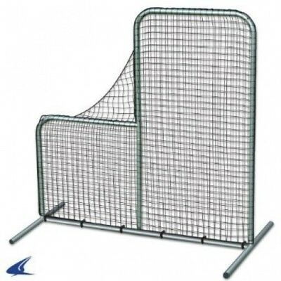 Pitcher's Safety L-Screen - 7'x7' w/ 101.6cm Drop. Champro. Shipping is Free