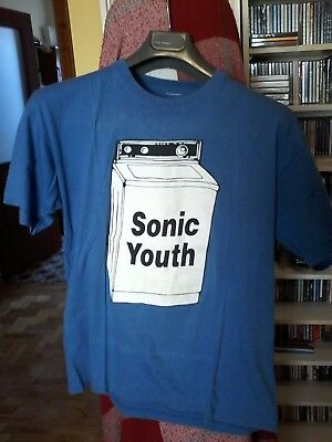 SONIC YOUTH WASHING MACHINE T-SHIRT L (front and back print)