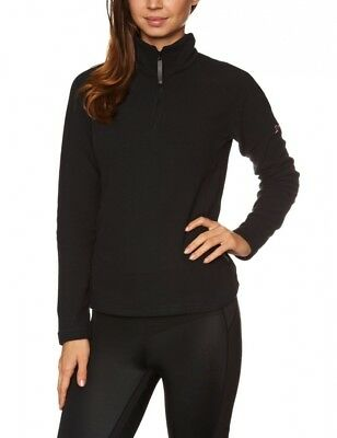 (Size 16, Black / Black) - Berghaus Women's Arnside Half Zip Fleece Jacket